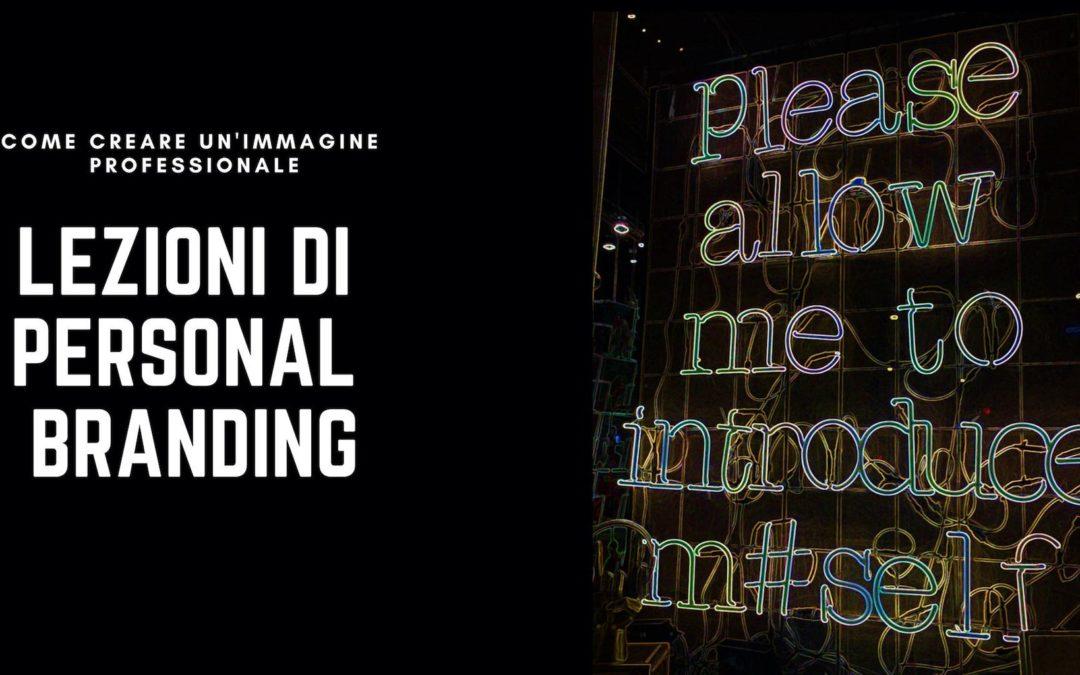 Please allow me to introduce myself: lezioni di Personal Branding