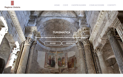 Cambia la piattaforma Turismatica della Regione Umbria