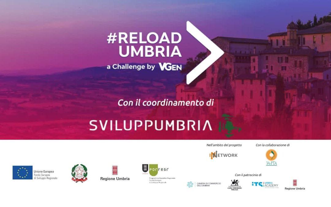 Reload Umbria, una challenge per il territorio
